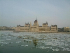 Winter day in Budapest