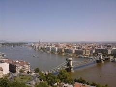 Panorama from Gellért Hill
