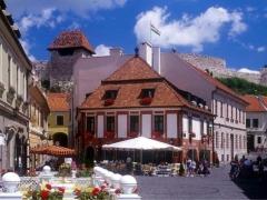 Eger city center